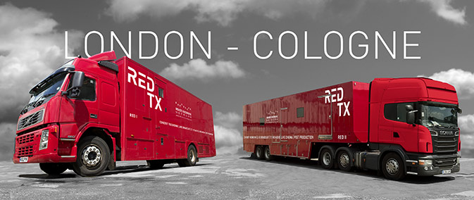 Red TX Trucks